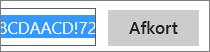 Forkorte URL-adressen