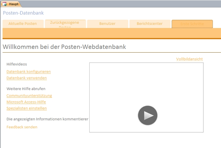 Posten-Webdatenbank