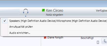 Audiooptionen