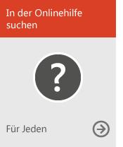 In der Onlinehilfe suchen (für alle Benutzer)