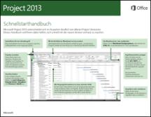 Project 2013 - Schnellstarthandbuch