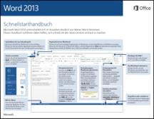 Word 2013 - Schnellstarthandbuch