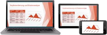 Starten einer Onlinebesprechung in PowerPoint
