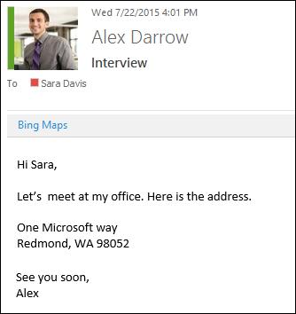 Bing Maps add-in
