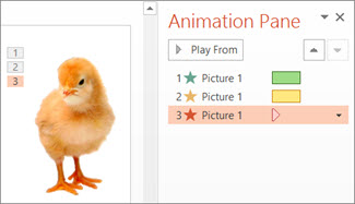 Apply multiple animations to one object