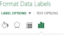 Format Data Labels Pane