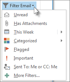 Filter email