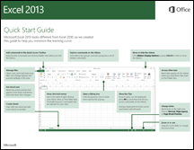 Excel 2013 Quick Start Guide