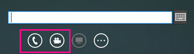 Screen shot of voicemail conversation window