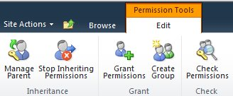 Check Permissions button