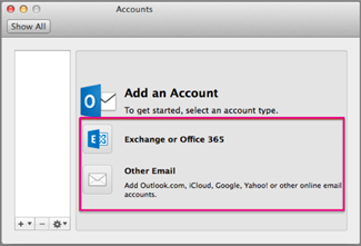 how to use outlook in macbook