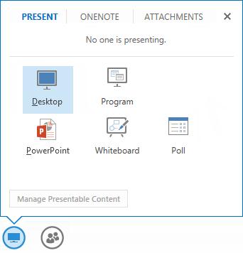 Share your desktop