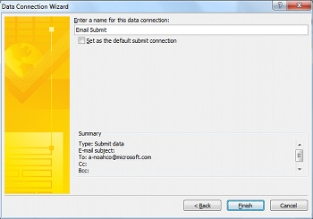 Submit and save form data