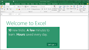 excel 2016 training office support