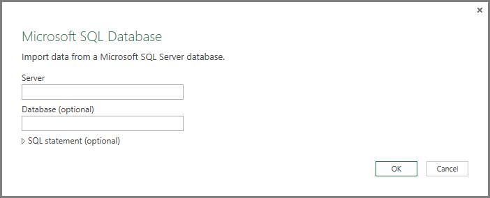 Get Data from SQL Server