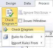 Check Diagram button