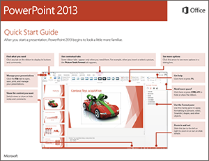 PowerPoint 2013 Quick Start Guide
