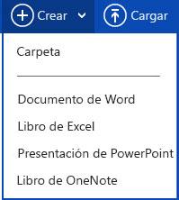 Crear un documento nuevo