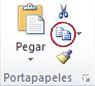 Comando Copiar del grupo Portapapeles