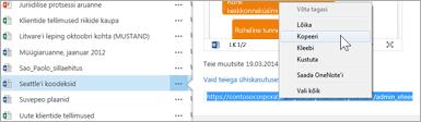 Dokumendi veebisaidi URL
