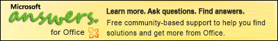 Siirry Officen Microsoft Answers -sivustoon