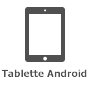 Icône d'une tablette Android