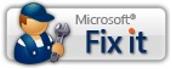 Microsoft इसे ठीक करें बटन