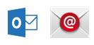 Outlook अनुप्रयोग और Android के लिए अंतर्निहित मेल अनुप्रयोग