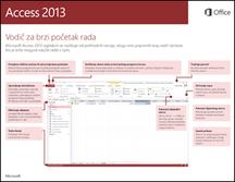 Vodič za brzi početak rada s programom Access 2013