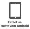 Ikona tableta sa sustavom Android