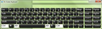러시아어(키릴 자모) 문자 화상 키보드