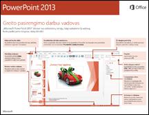 """""""PowerPoint 2013"""" greito pasirengimo darbui vadovas"""