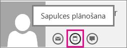 Poga Ieplānot sapulci programmā Outlook Web App