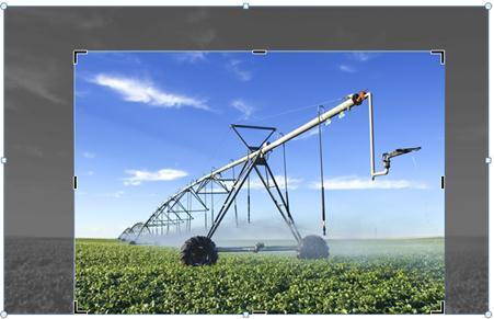 Fotoattēla apgriešana programmā PowerPoint2010