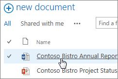 Klik dokumen untuk membukanya