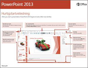 Hurtigstartveiledning for PowerPoint 2013