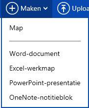 Nieuw document maken
