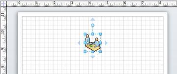 Shape met pijlen van Automatisch verbinden