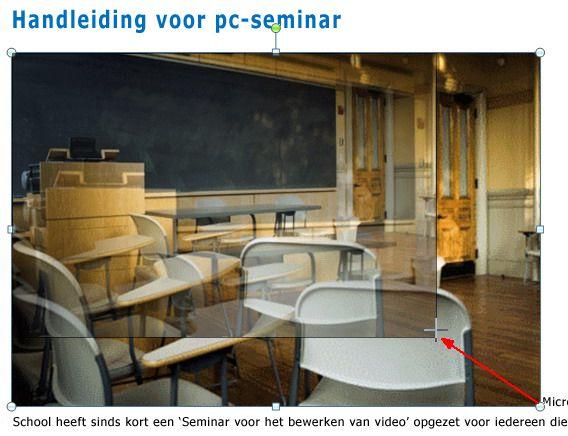 PowerPoint-presentatie in het nieuwe hulpmiddel Objecten opnieuw ordenen