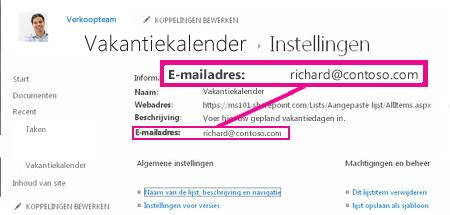 Bestanden toevoegen door e-mail te verzenden