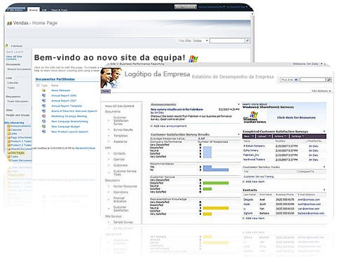 Sites criados com o SharePoint Designer 2010