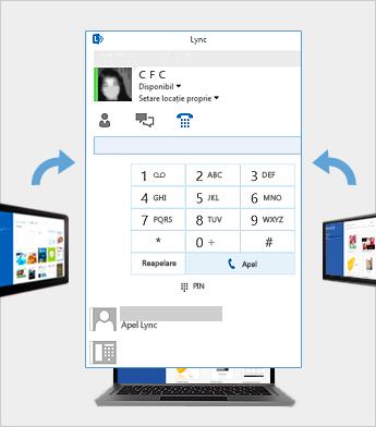 Întâlnire online utilizând Lync