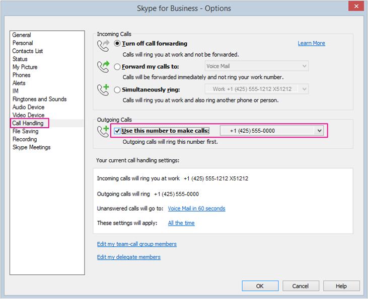 Outgoing Skype Call No Ring